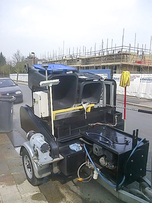 Wheelie bin cleaners in East London
