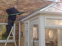 Conservatory Cleaning in Stevenage, Herts, London and Essex