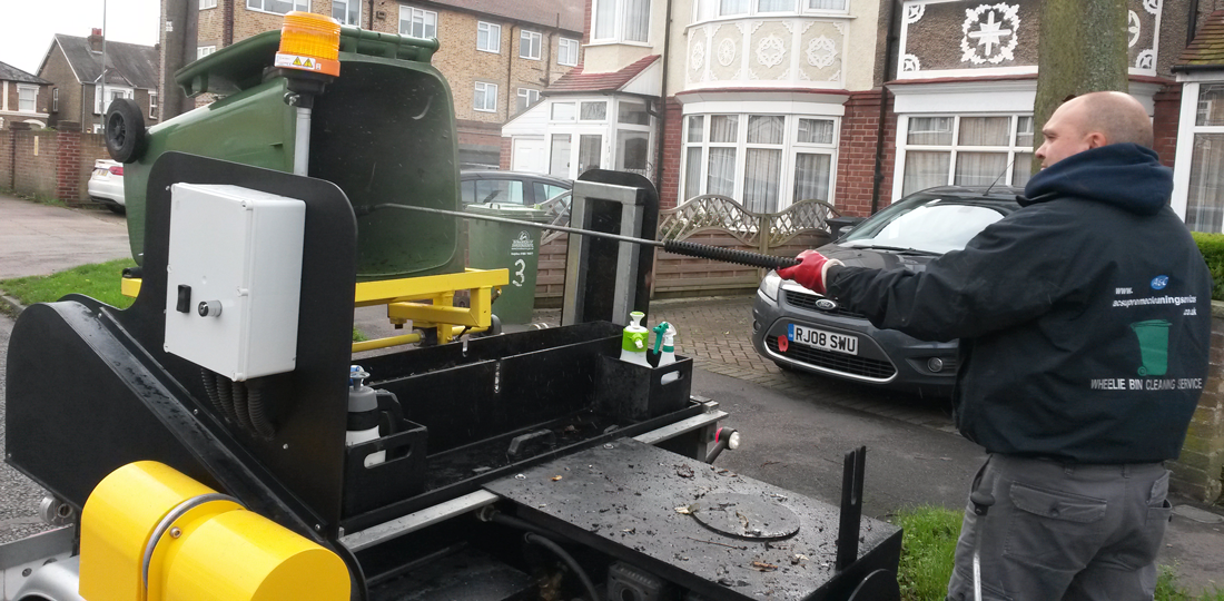 Wheelie Bin Cleaning Herts